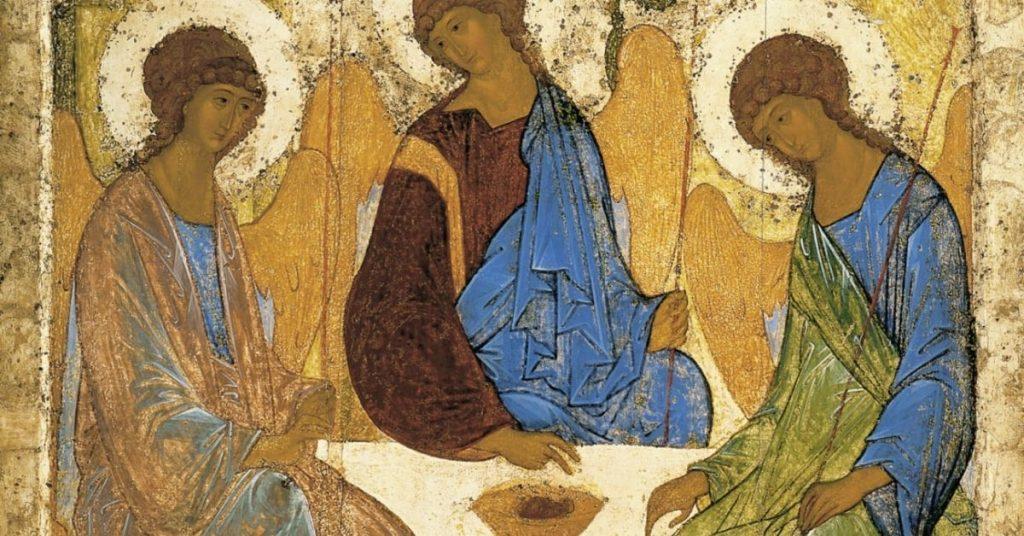Pourquoi la Trinité? Parce que Dieu lui-même s'est révélé à nous comme Père, Fils et Esprit Saint, et que cette Réalité façonne notre foi, et donc notre vie tout simplement.