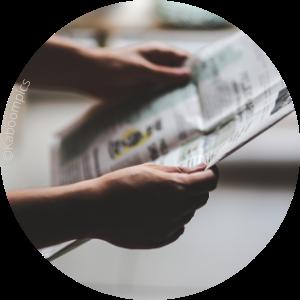 Avec un don de 50€ à CathoBel, vous contribuez à l'envoi de 30 journaux Dimanche à une aumônerie de prison ou d'hôpital