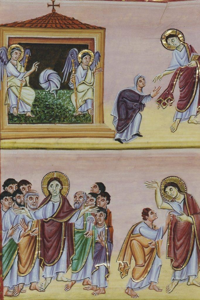Le tombeau est vide. Jésus apparait à Marie-Madeleine