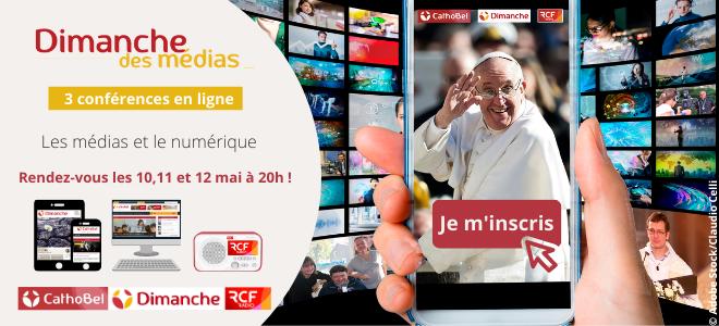 Cette année, le Dimanche des Médias du 16 mai aura pour thème 'Les médias et le numérique'.