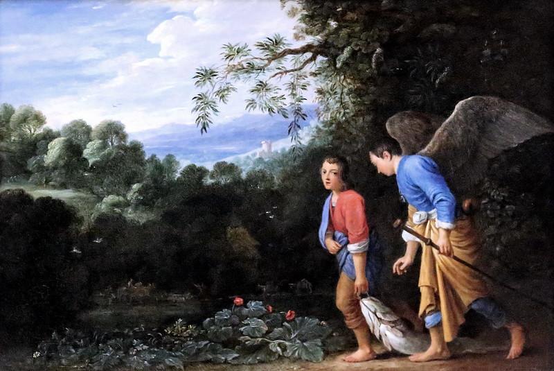 Tobie et l'archange Raphaël
