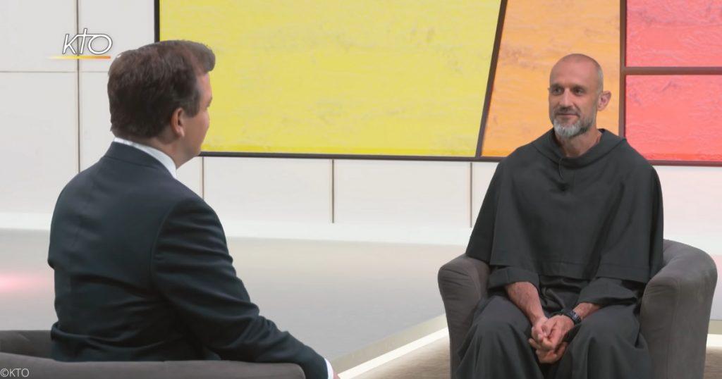 """Frère Jack était l'invité de Cyril Lepeigneux dans l'émission """"Un coeur qui écoute"""""""