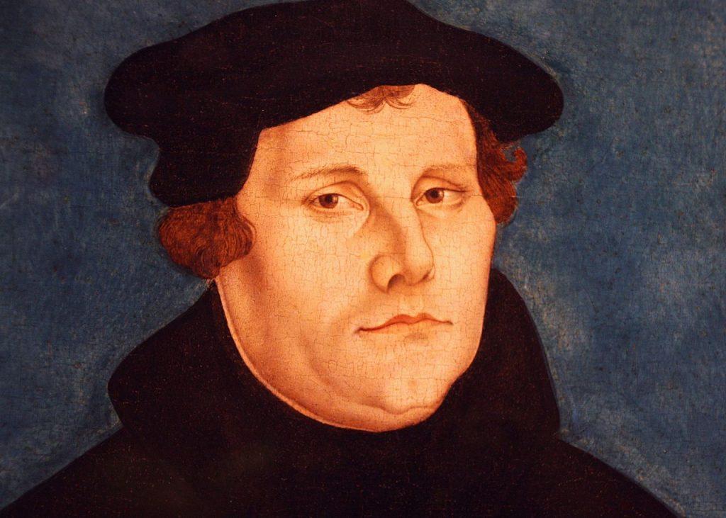 Martin Luther, père de la Réforme, porte un bonnet comme les ecclésiastiques de son époque