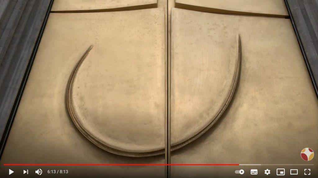 Nouvelle porte pour la cathédrale de Liège