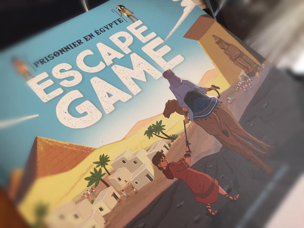 Mame vient de sortir de presse un escape game biblique pour enfants