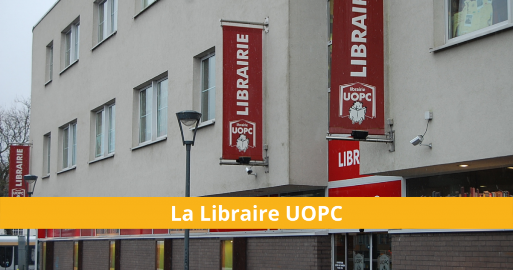 Vue extérieure de la librairie UOPC - ©UOPC